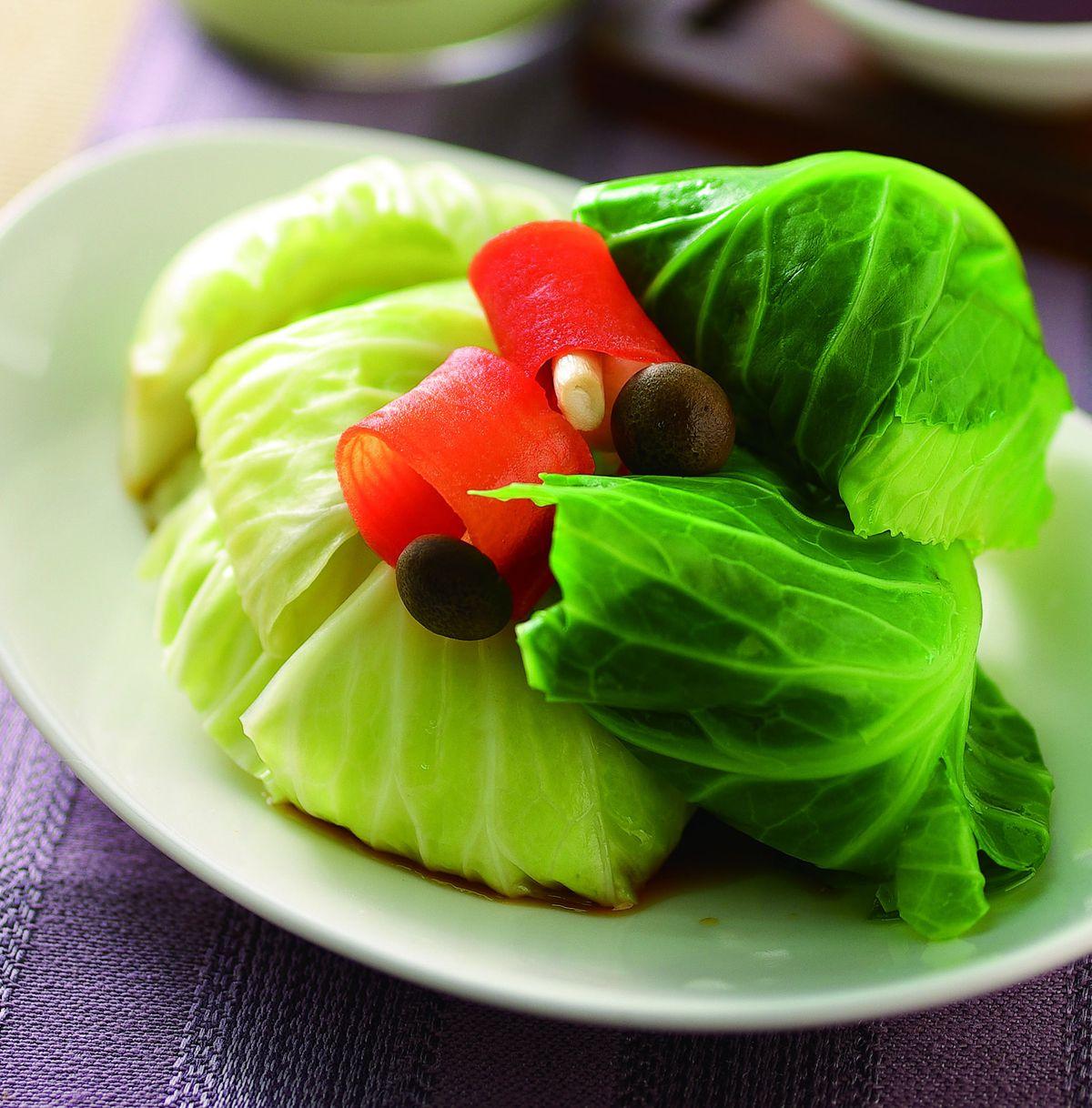 食譜:香煎高麗菜捲(1)