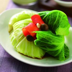 香煎高麗菜捲(1)