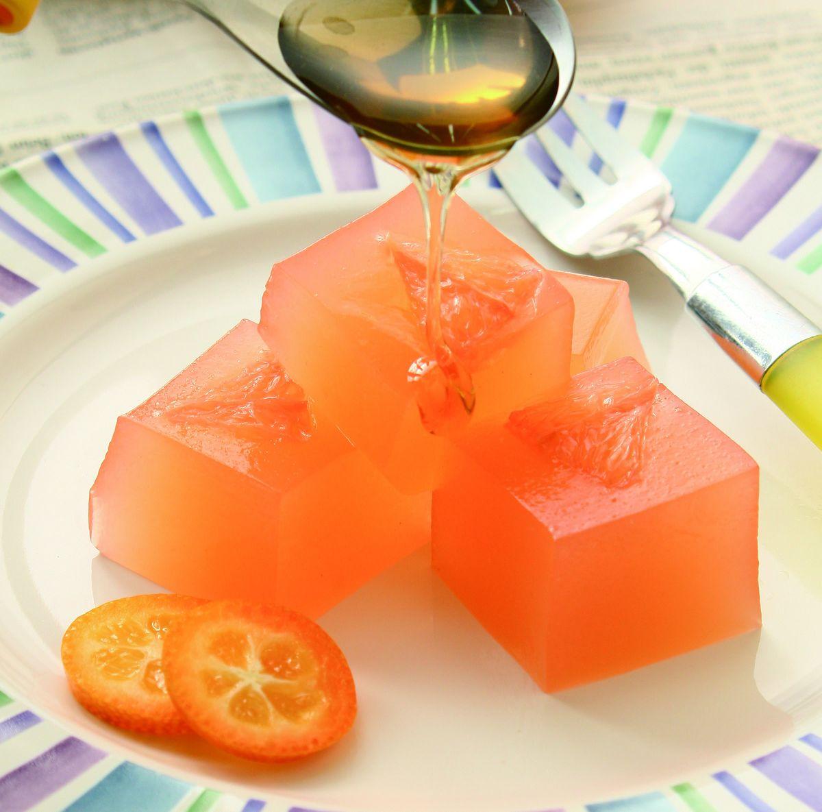 食譜:葡萄柚凍(2)