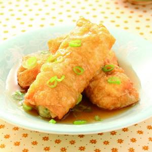 豆皮飯菜捲