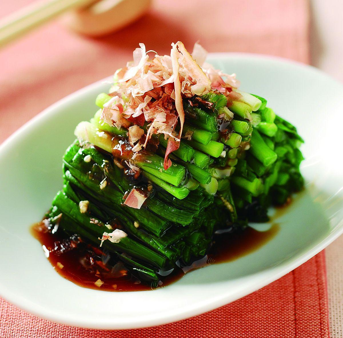 食譜:韭菜拌柴魚