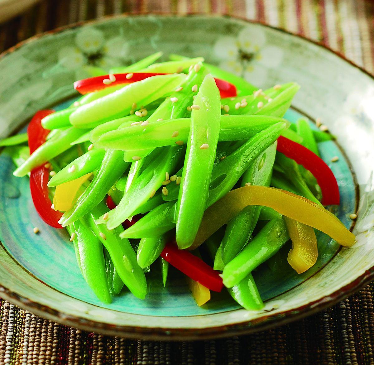食譜:涼拌四季彩椒
