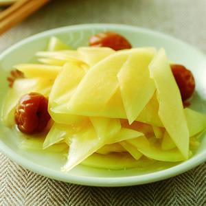 梅醋青木瓜