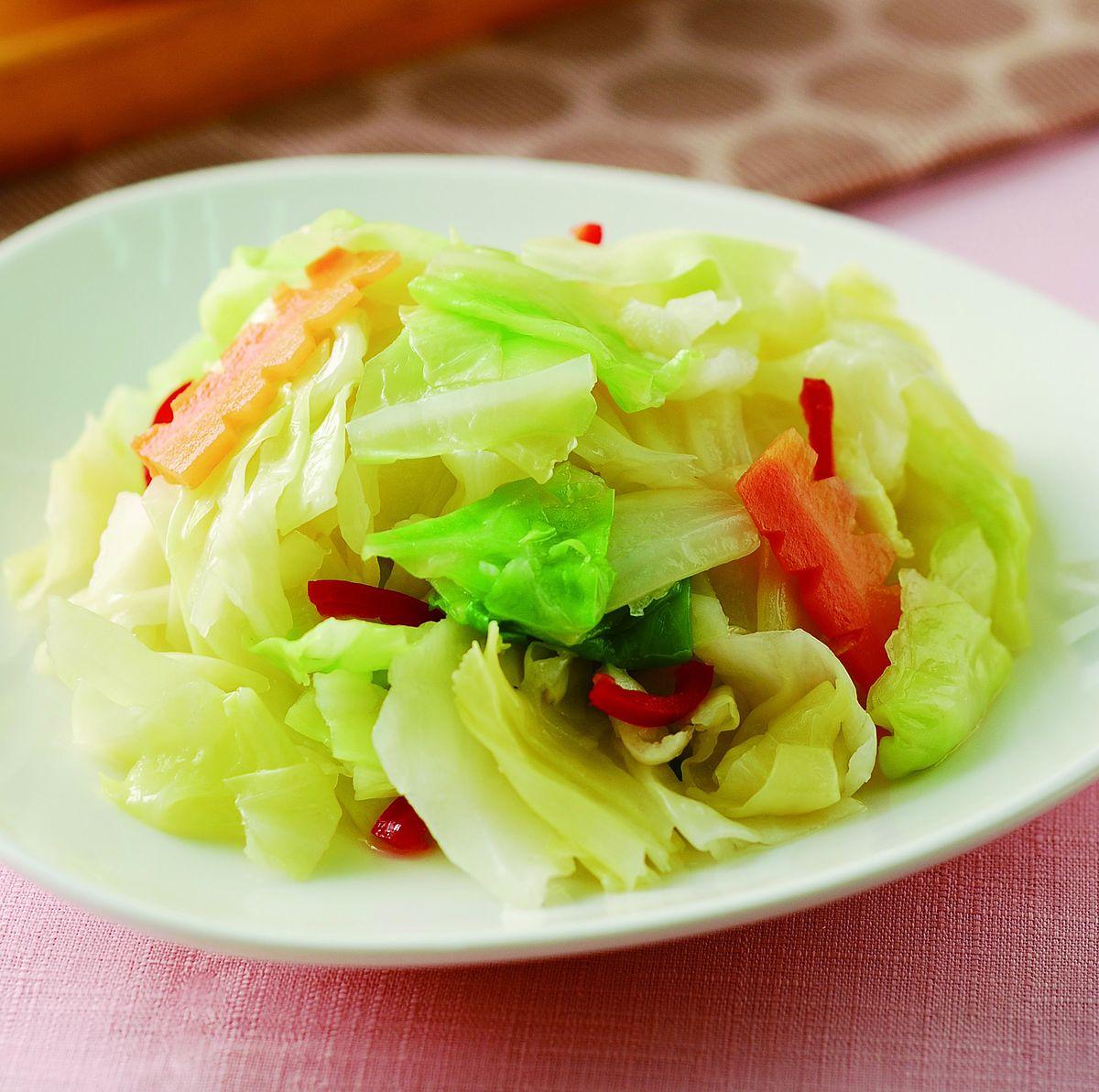 食譜:涼拌高麗菜(1)