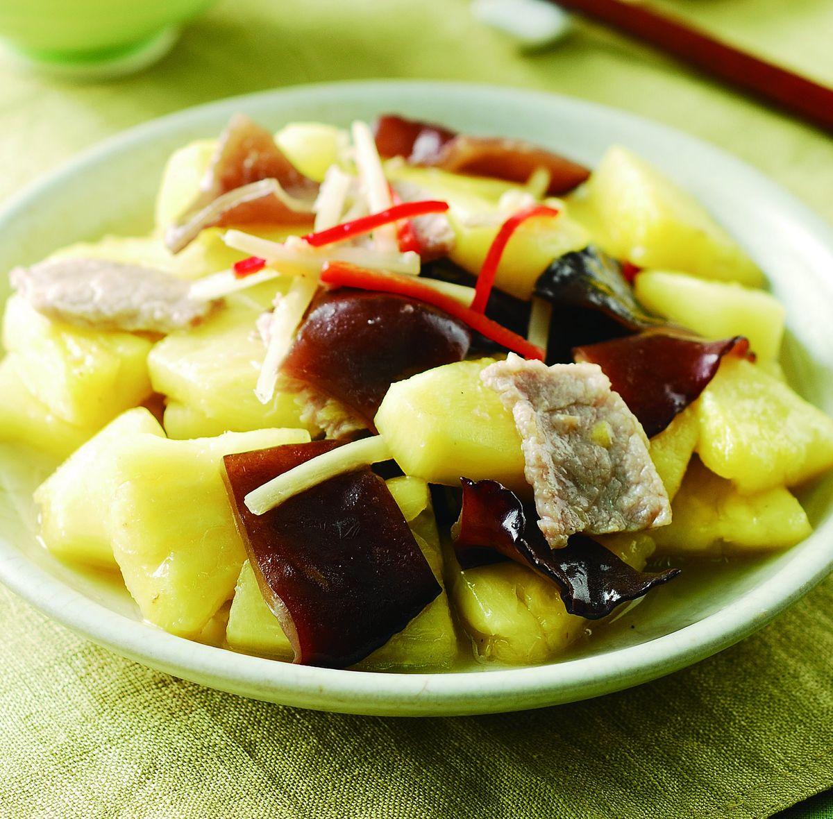 食譜:鳳梨炒木耳(5)