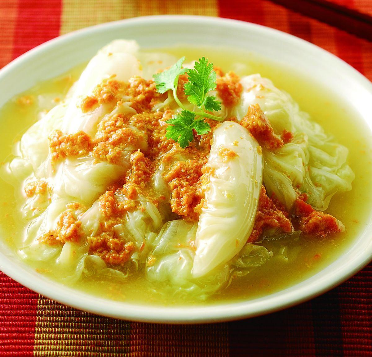 食譜:蟹黃白菜