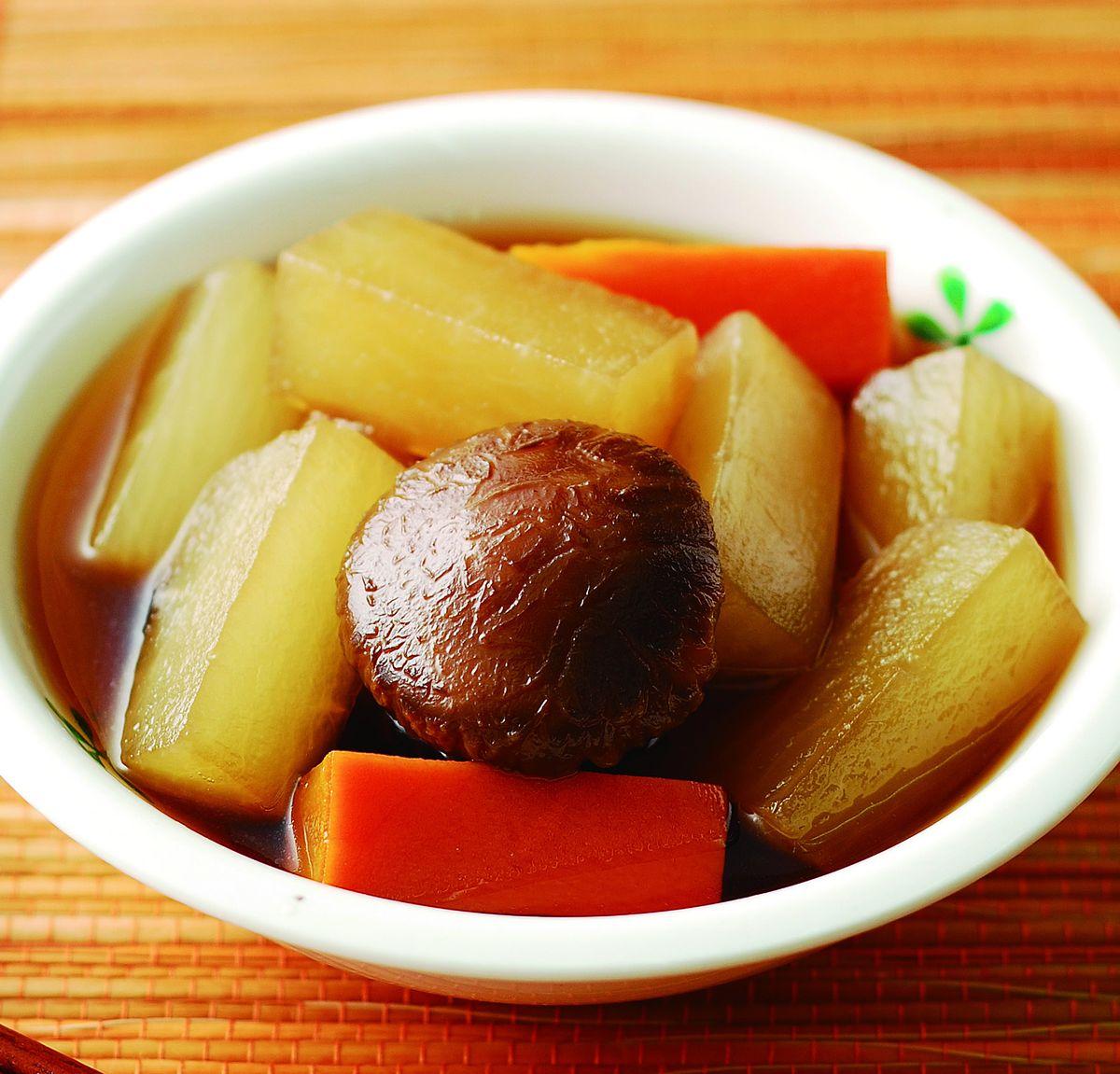 食譜:花菇香滷蘿蔔
