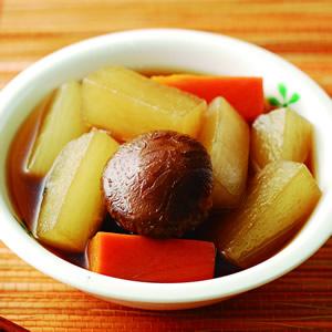 花菇香滷蘿蔔