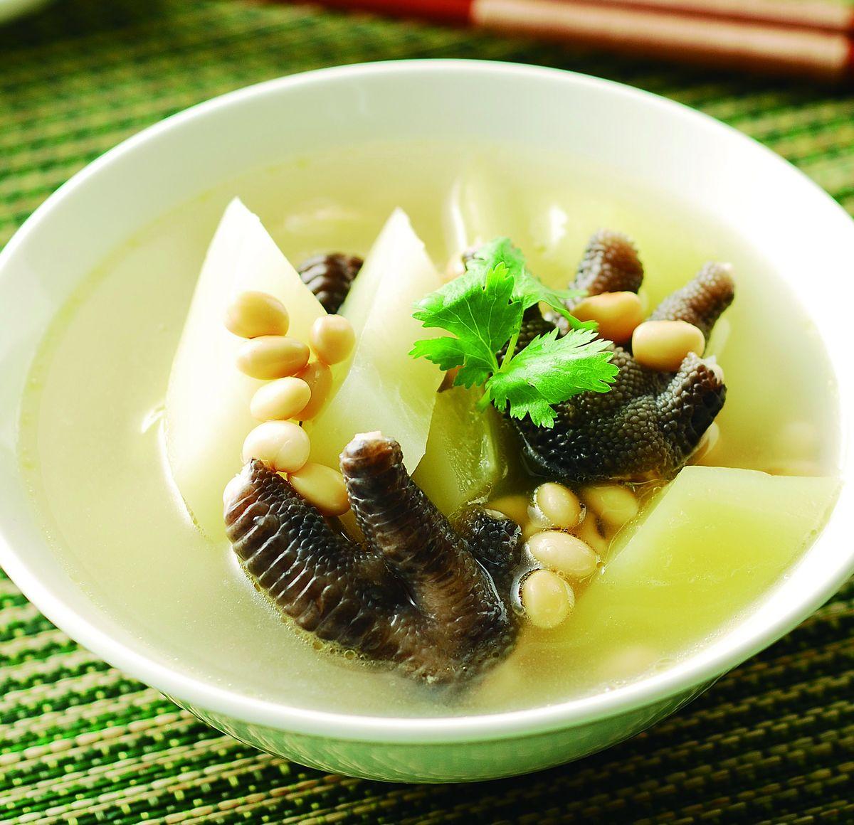 食譜:青木瓜燉鳳爪