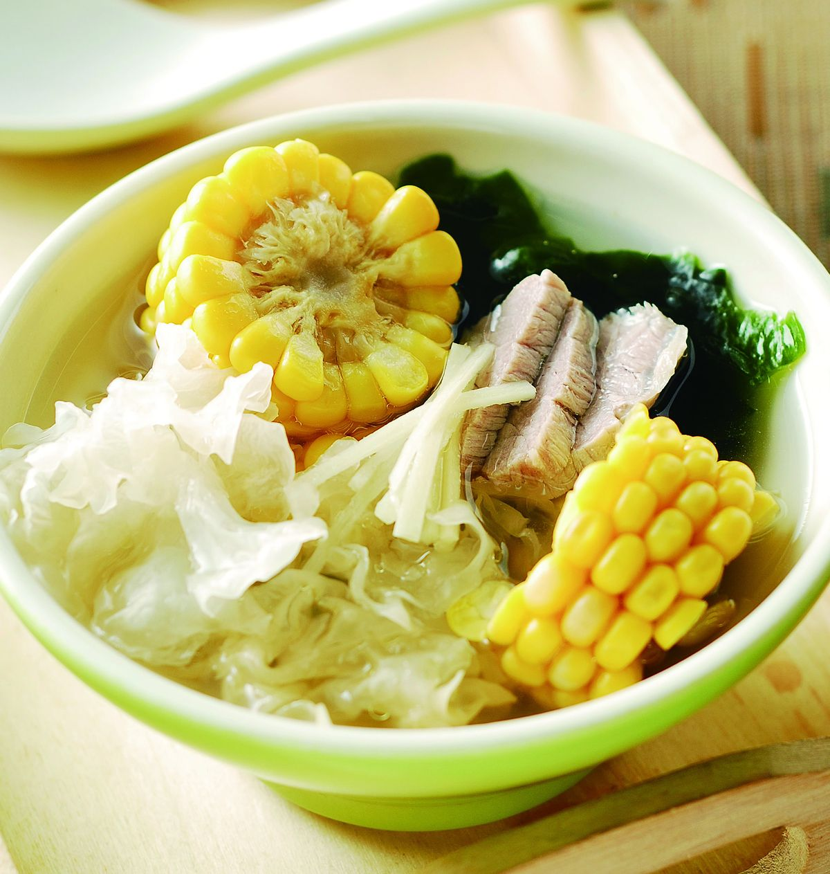 食譜:銀耳玉米湯