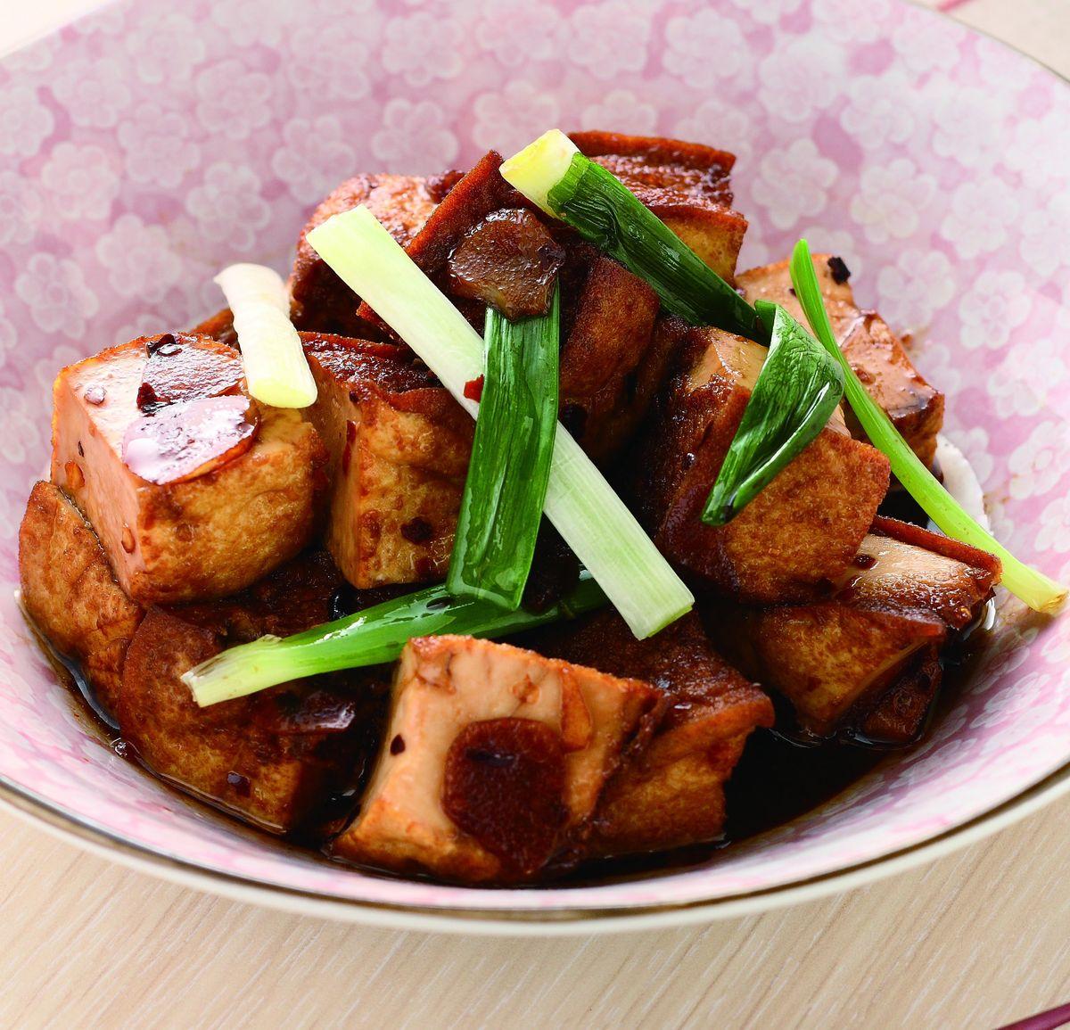 食譜:辣味炒豆腐