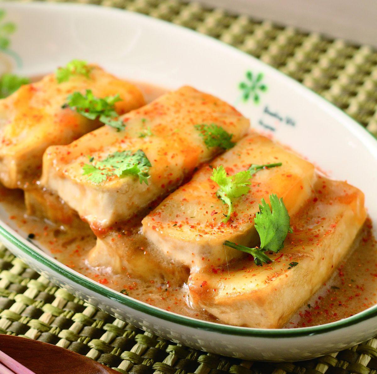 食譜:乳酪煎豆腐