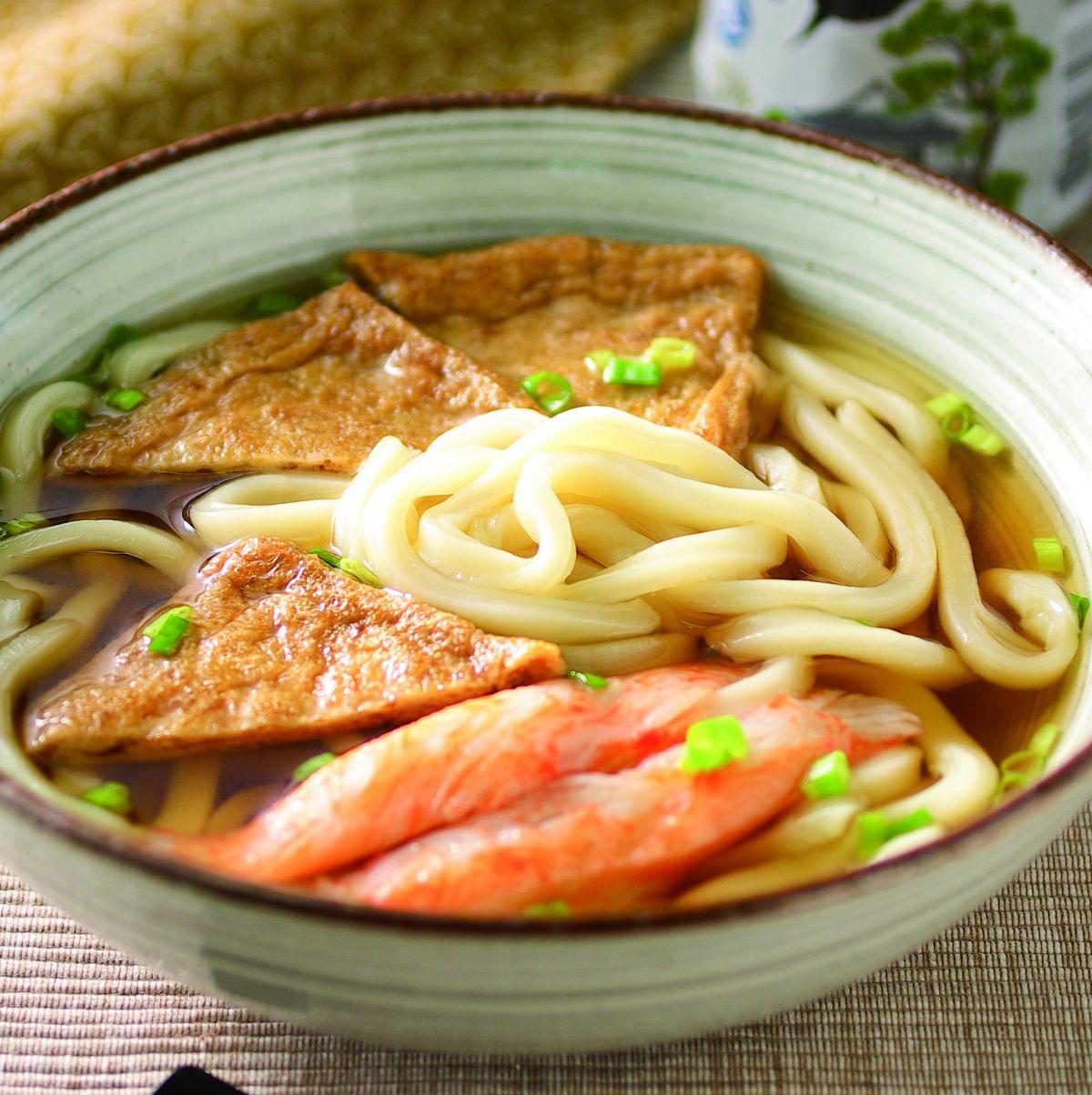 食譜:豆皮湯汁烏龍麵