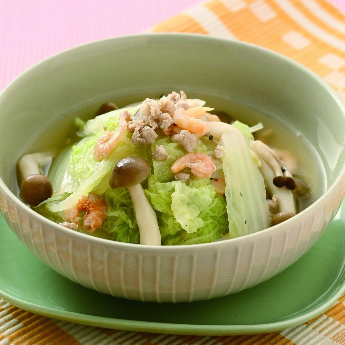 食譜:鮮味燉白菜