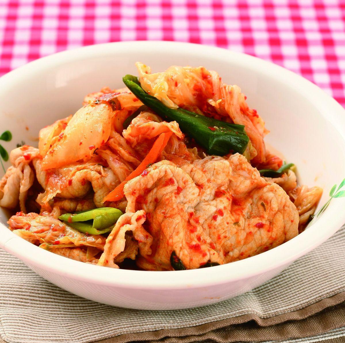 食譜:泡菜肉片(1)