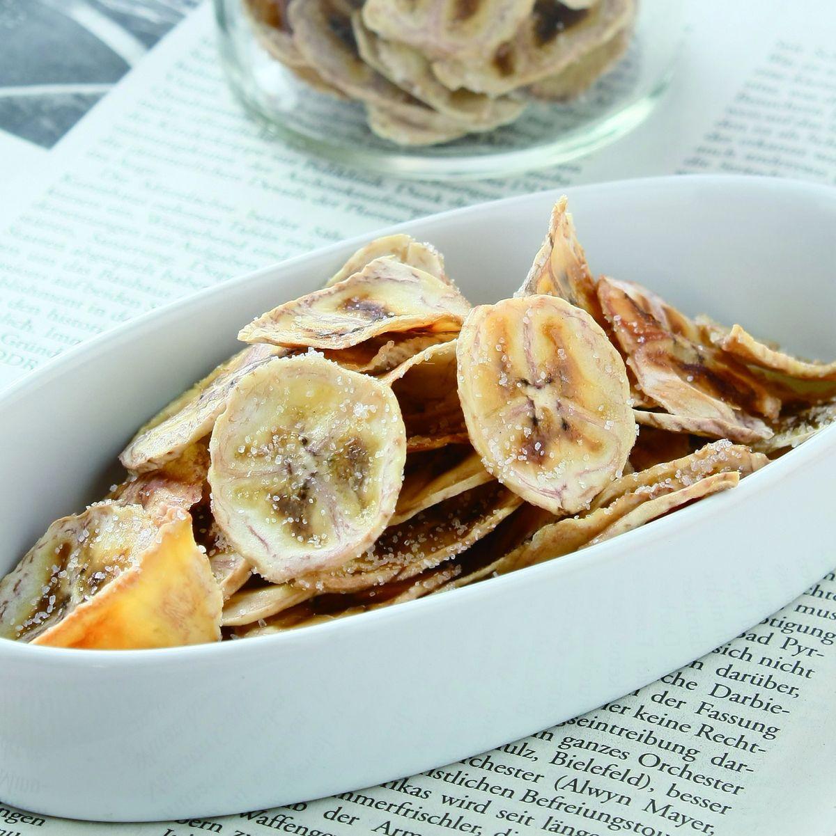 食譜:酥脆香蕉片