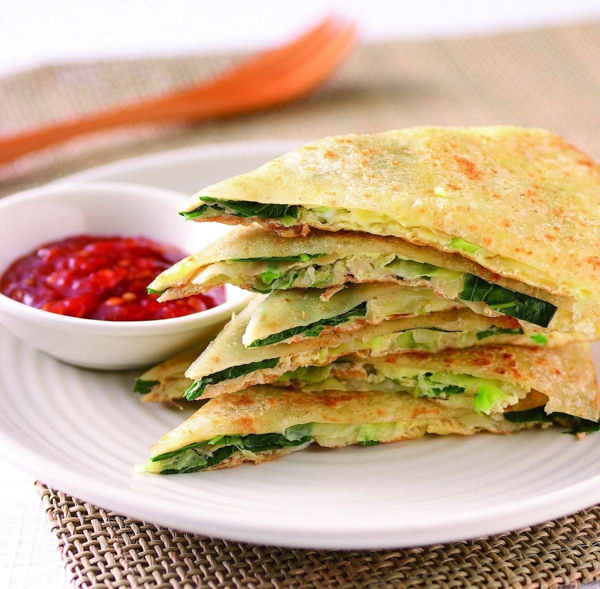 食譜:蔬菜蛋餅(4)