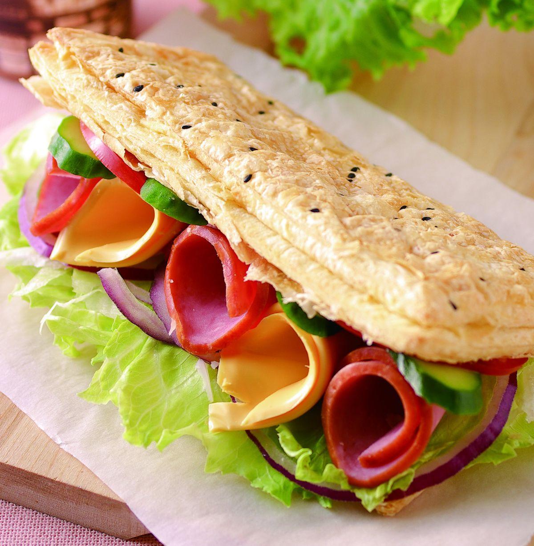 食譜:火腿起司燒餅