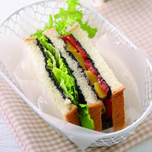 芝香蔬果三明治