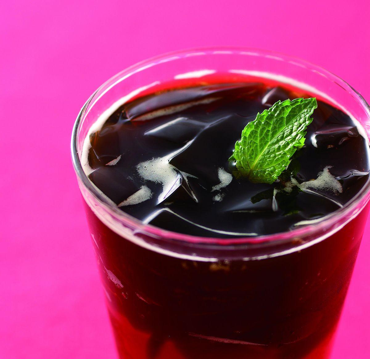 食譜:仙草紅茶(1)