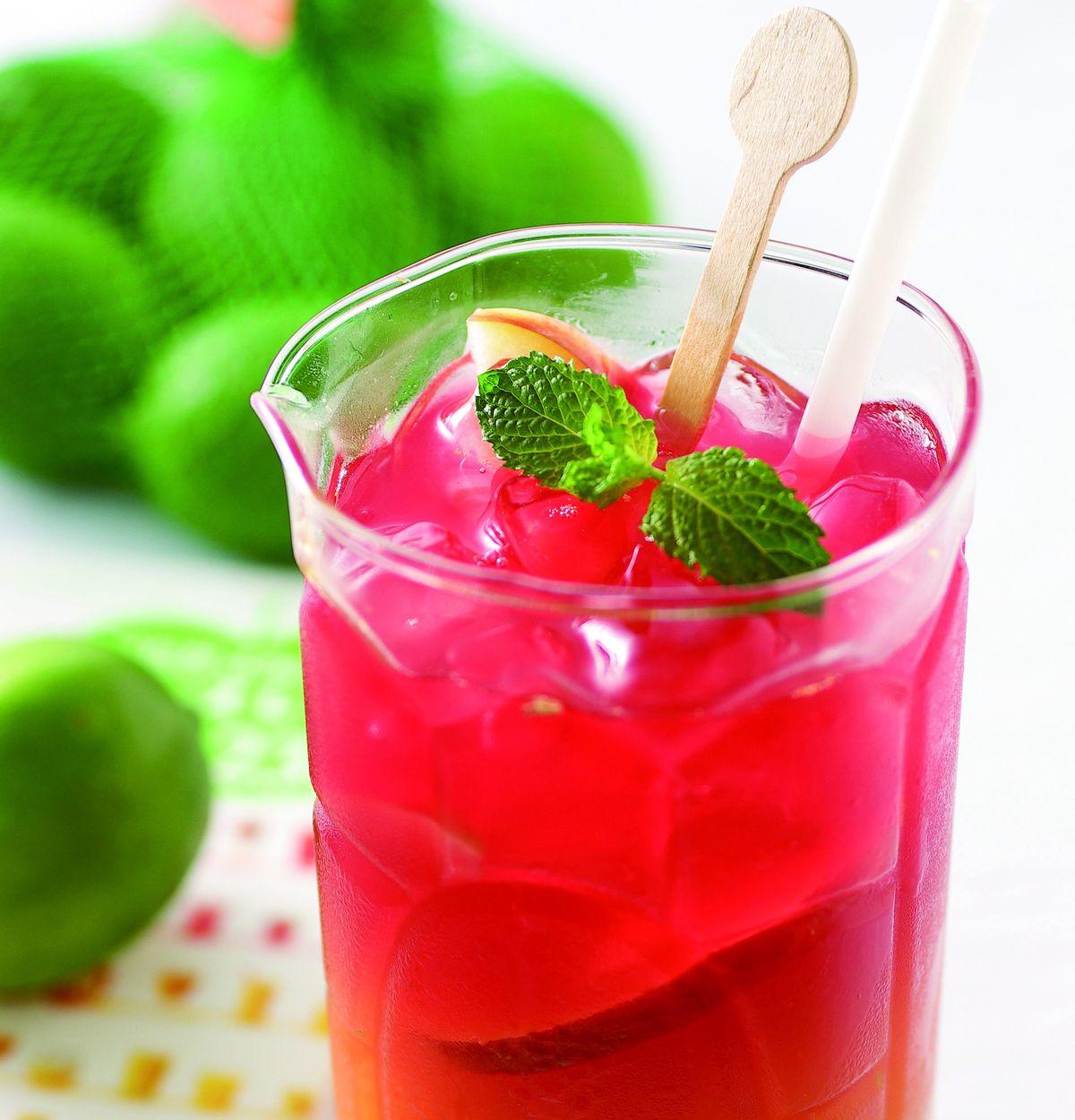 食譜:水果冰茶