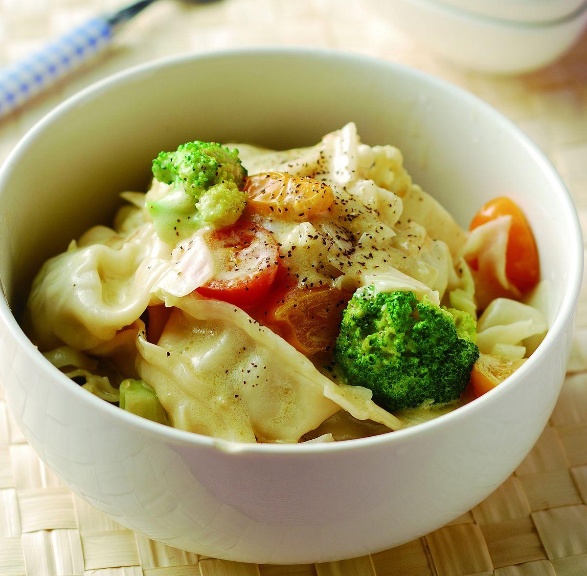 食譜:奶油餃子