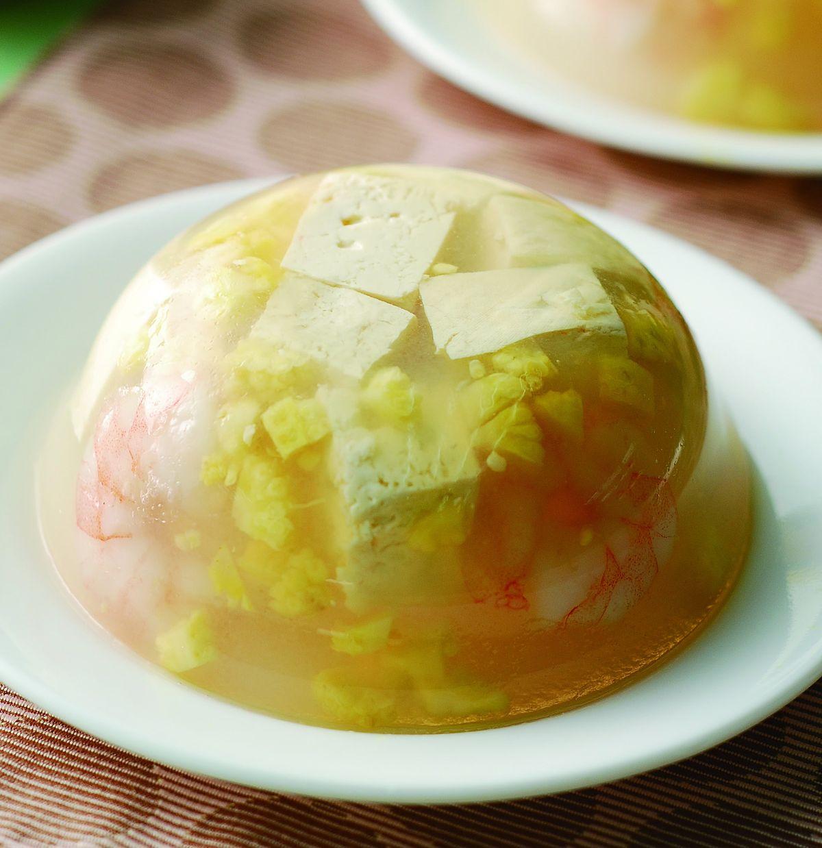 食譜:豆腐凍