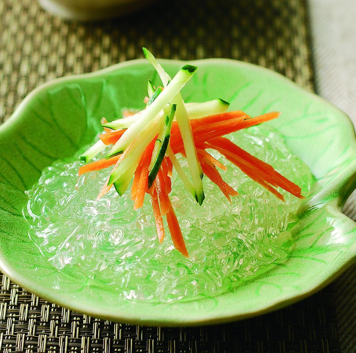食譜:涼拌水晶麵