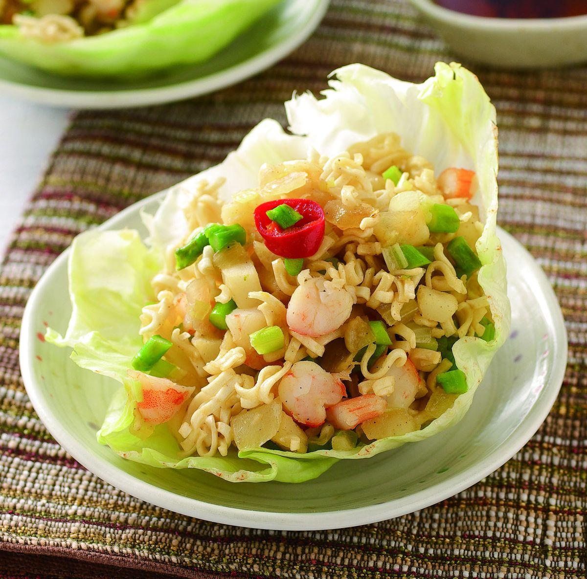 食譜:泡麵炒蝦鬆(3)