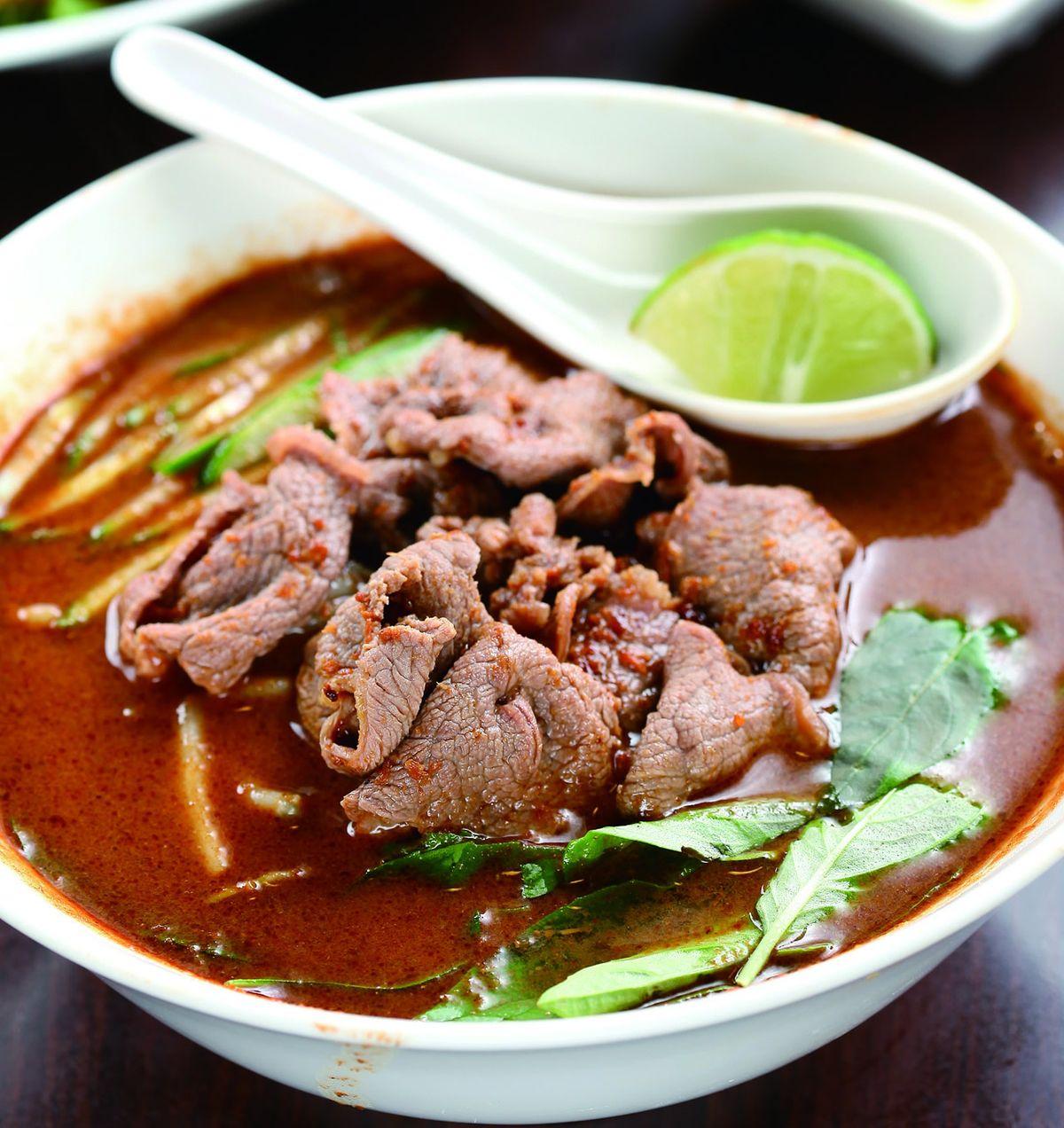 食譜:沙茶牛肉河粉(2)