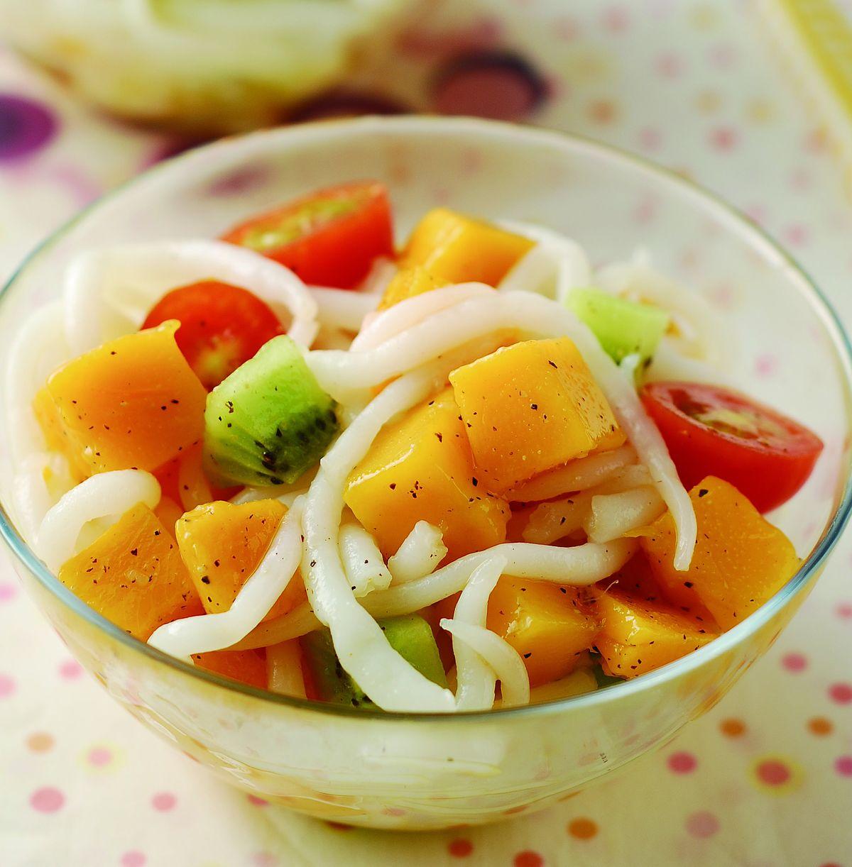 食譜:芒果米苔目沙拉