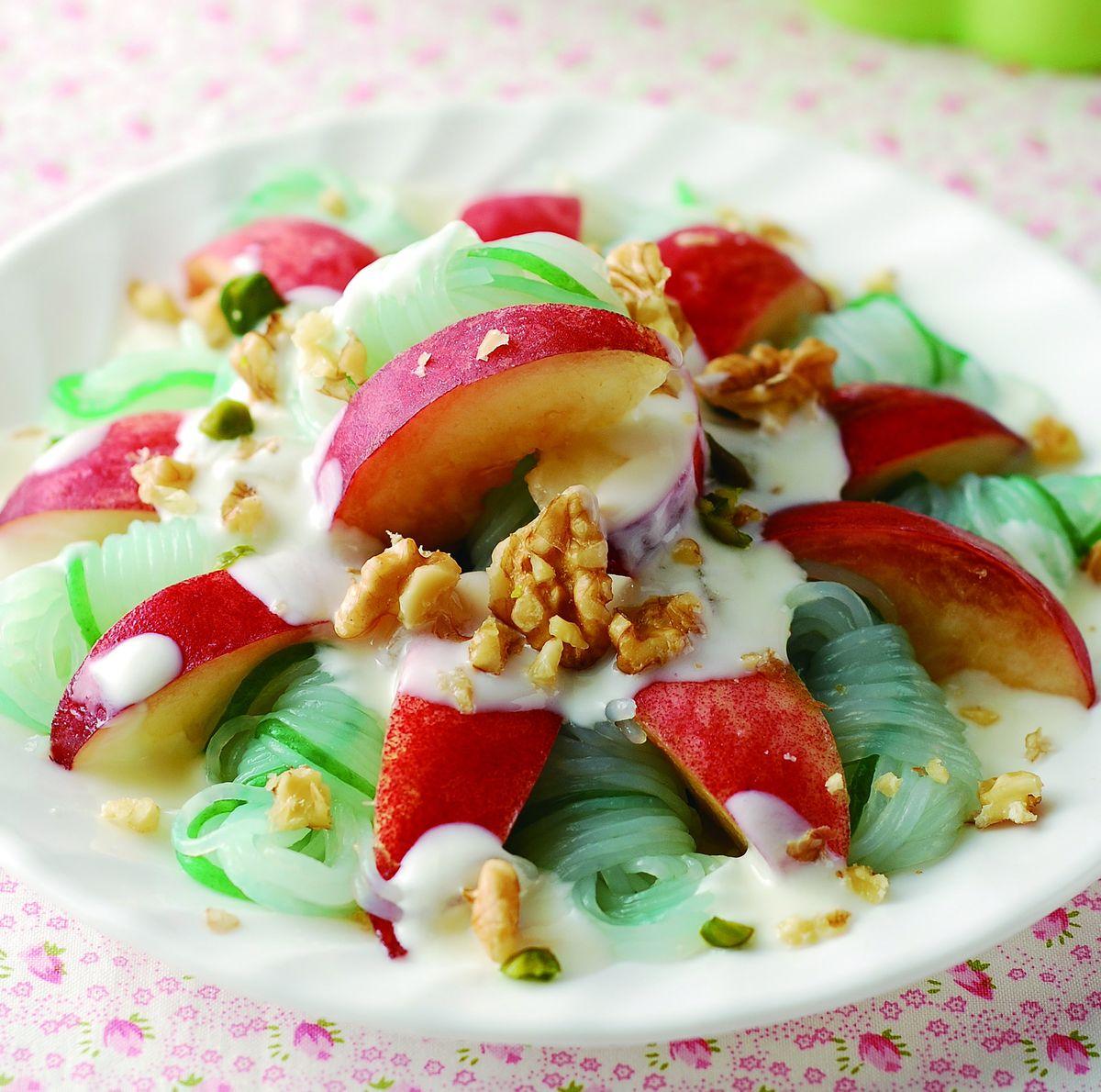 食譜:蜜桃蒟蒻沙拉