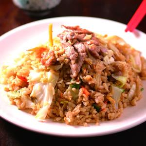 肉絲蛋炒飯(2)