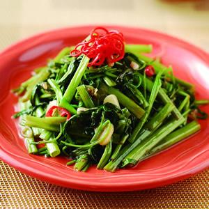 蝦醬空心菜(5)