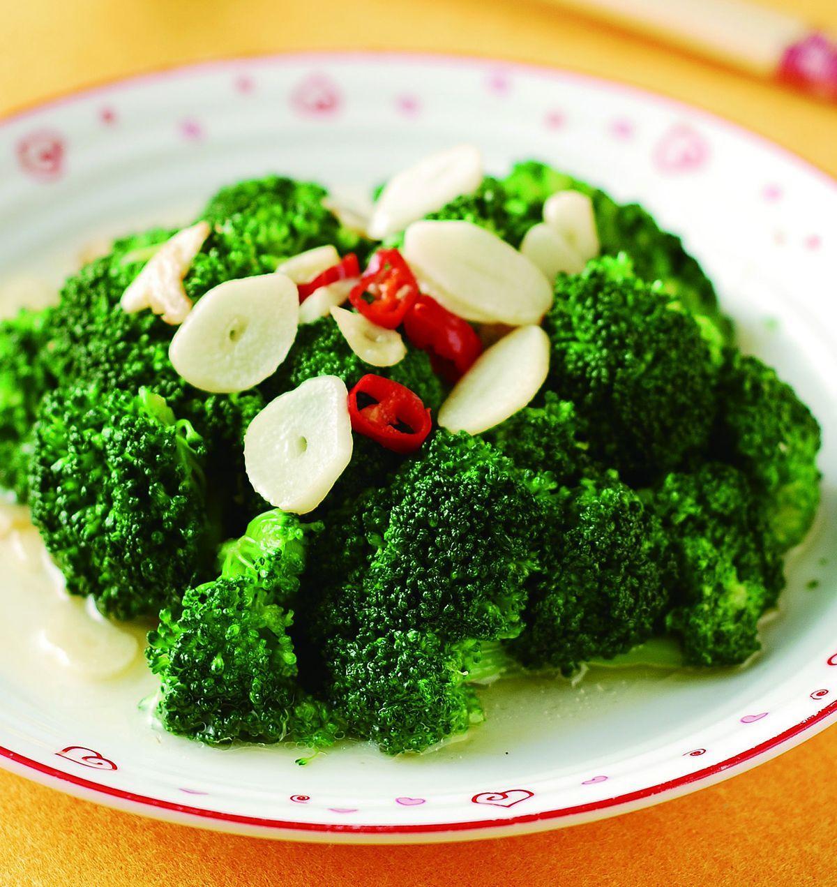 食譜:蒜香青花菜