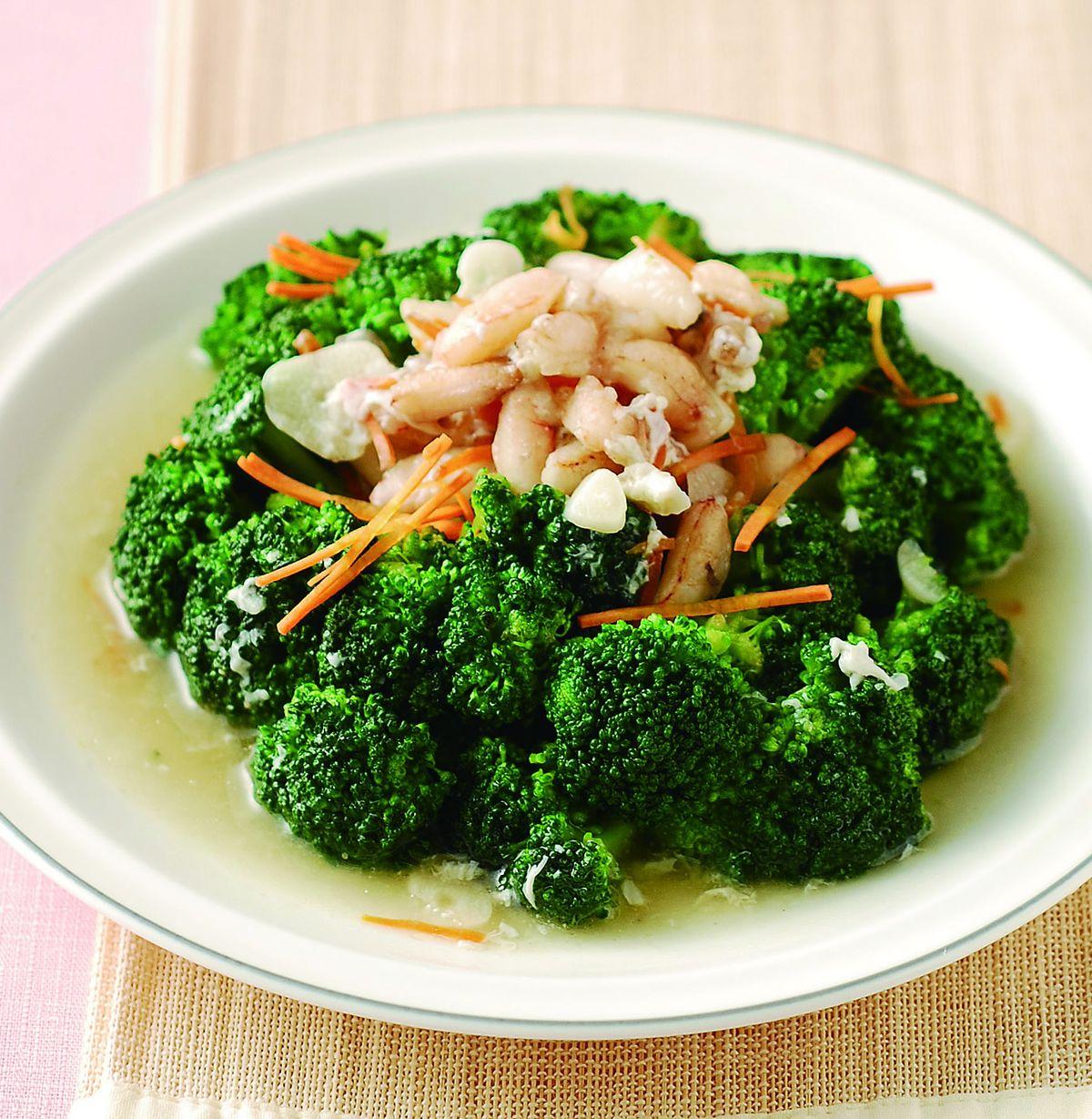 食譜:蟹肉青花菜
