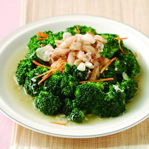 蟹肉青花菜