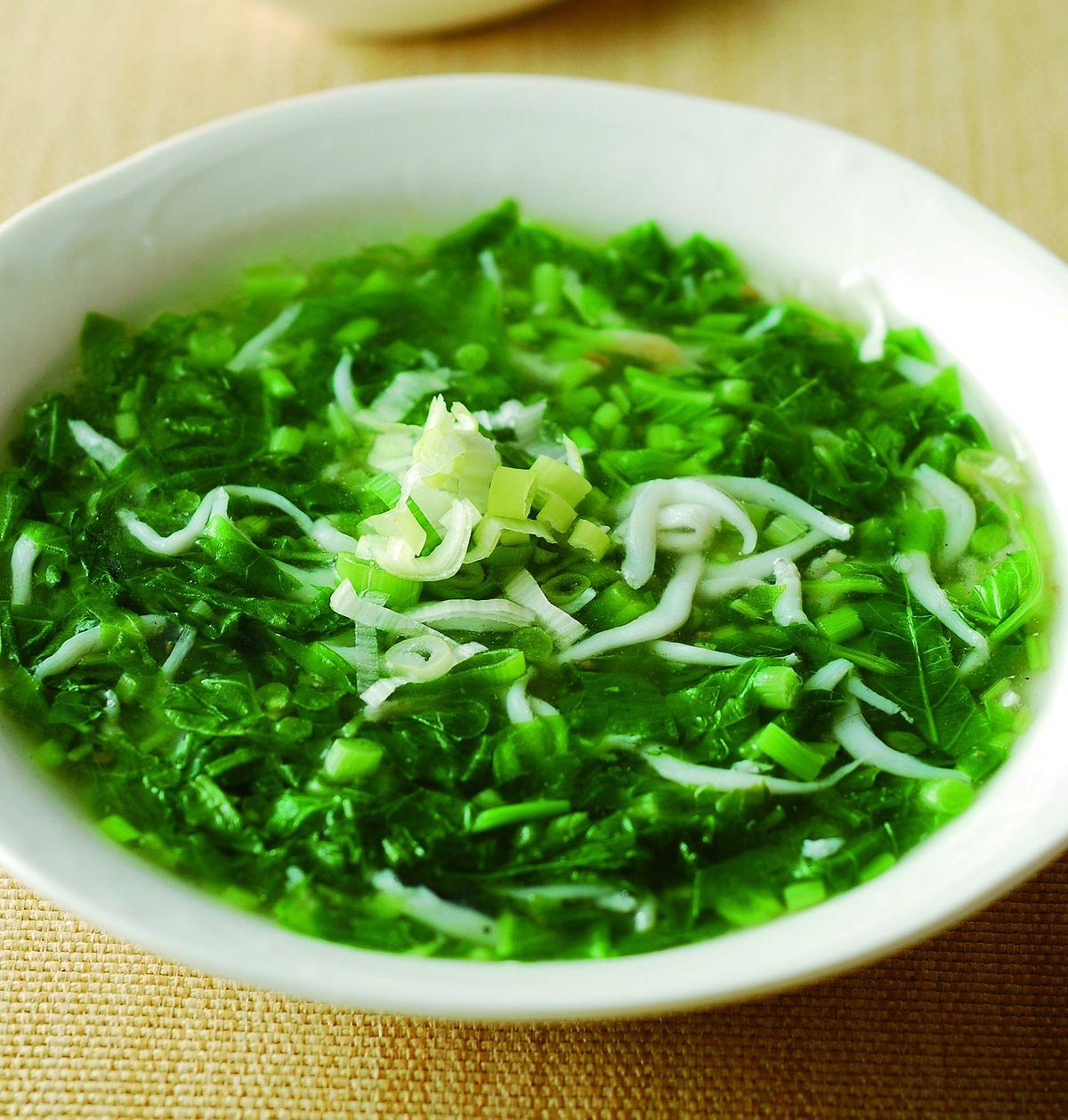 食譜:小魚炒莧菜