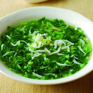 小魚炒莧菜