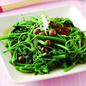 龍鬚菜炒破布籽