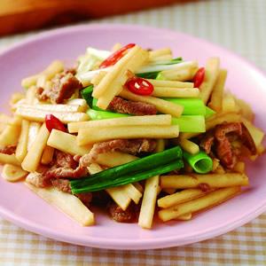 竹筍炒肉絲(5)