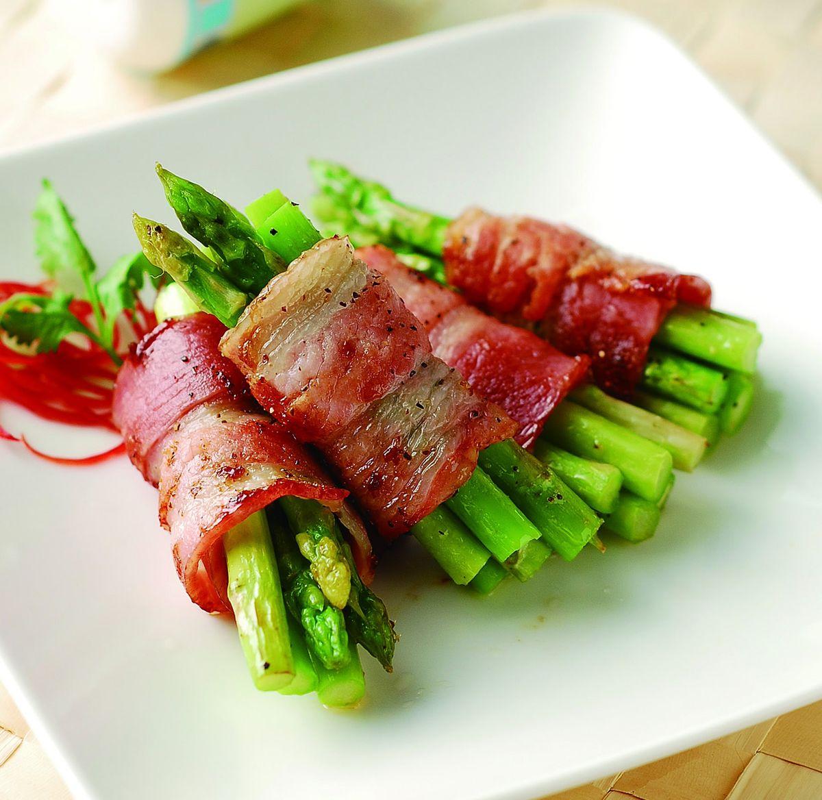 食譜:培根煎蘆筍
