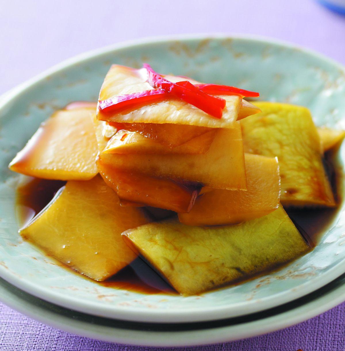 食譜:醃蘿蔔皮
