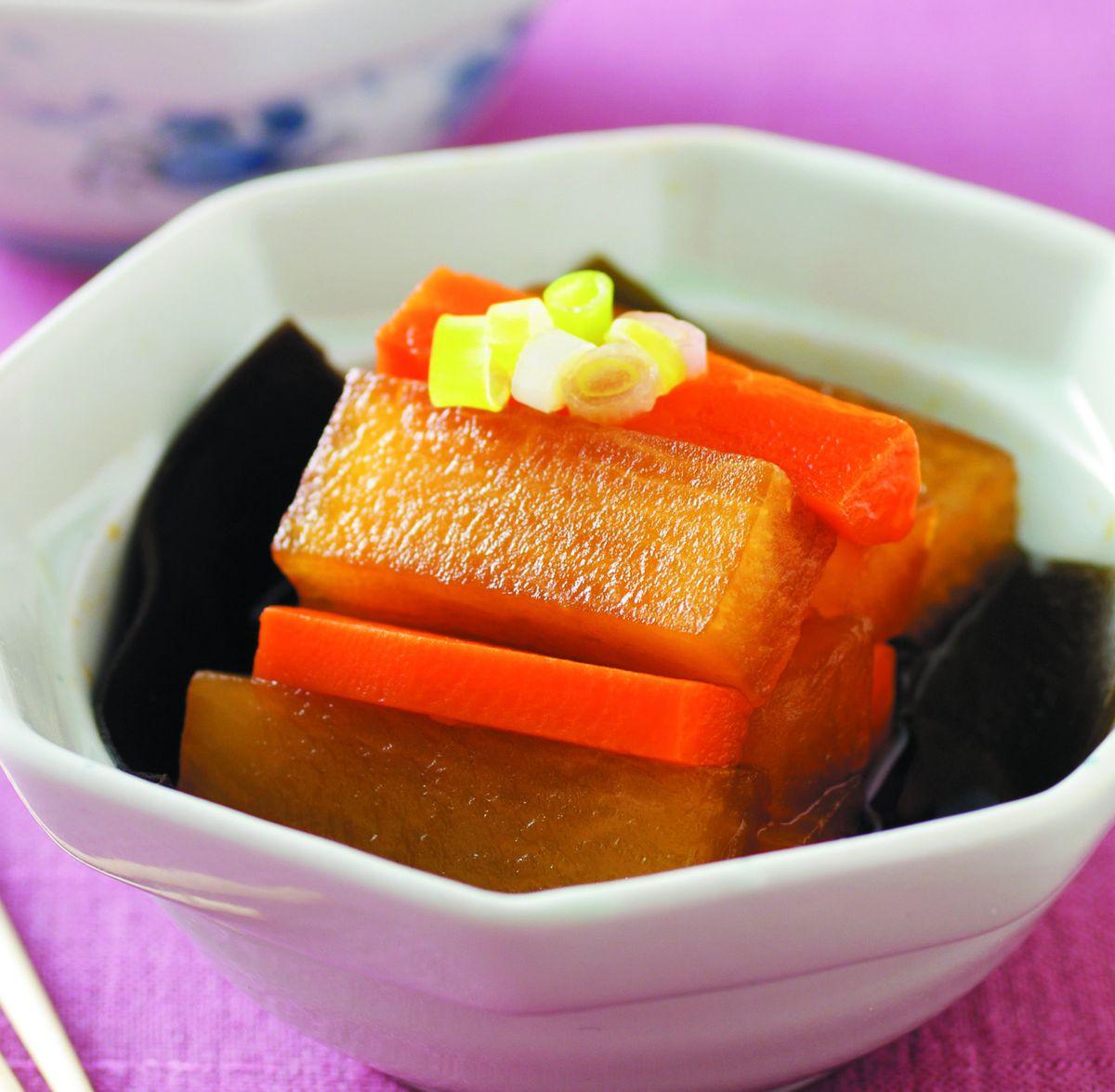 食譜:日式風味燒蘿蔔