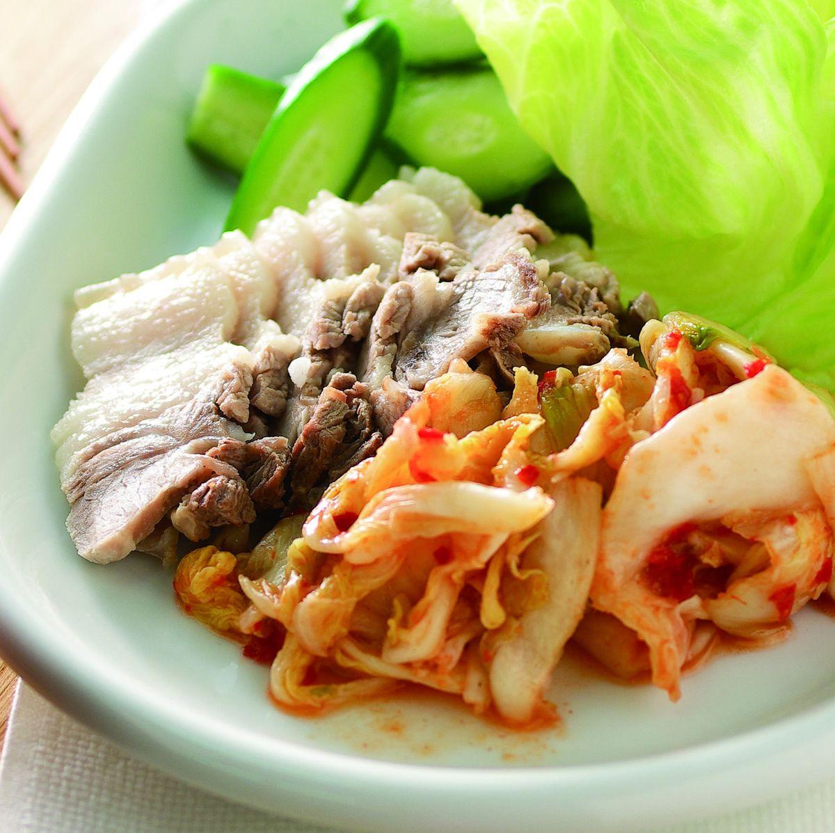 食譜:冷拌泡菜白肉