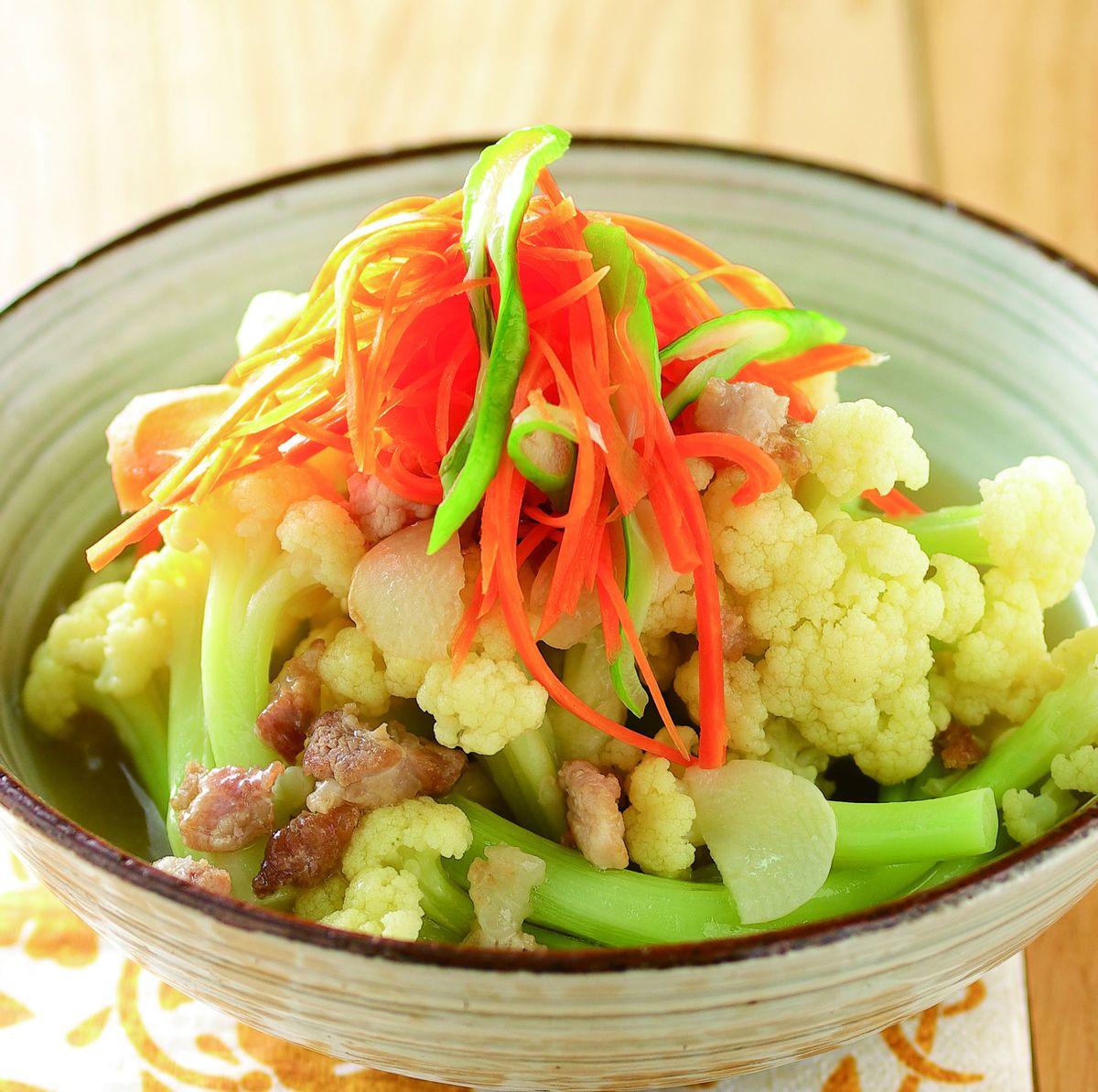 食譜:絞肉芡煮花椰菜
