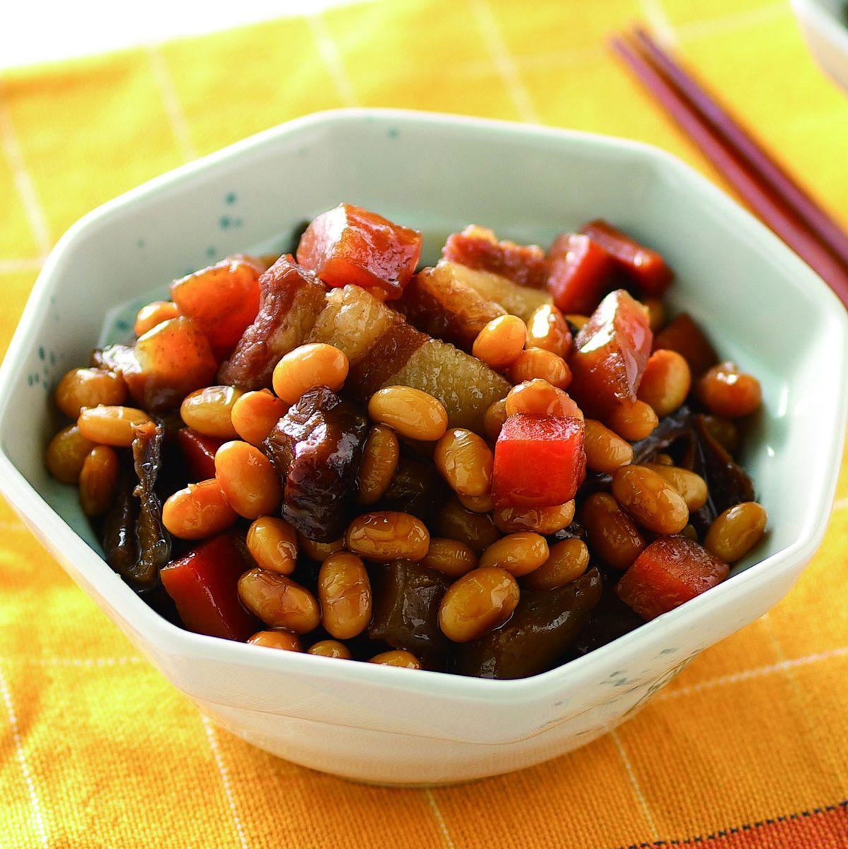 食譜:大豆滷肉丁