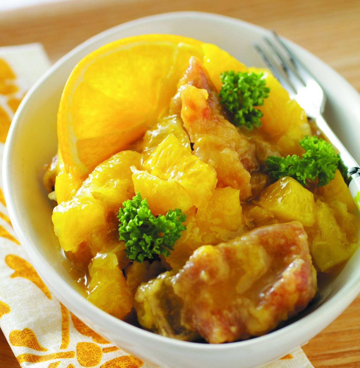 食譜:橙汁排骨(5)