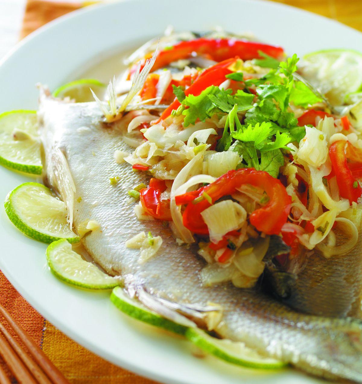 食譜:檸檬蒸魚(1)