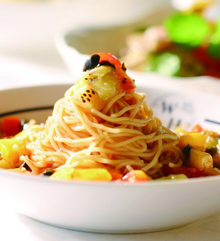 食譜:水果涼拌義大利麵